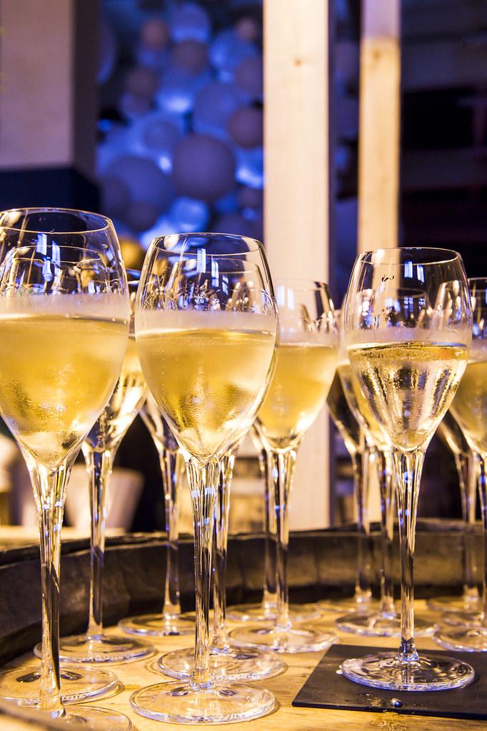 Le Champagne coulera pour vos événements de fin d'année….