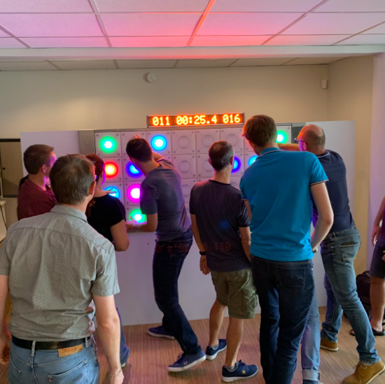 teambuilding mur digital