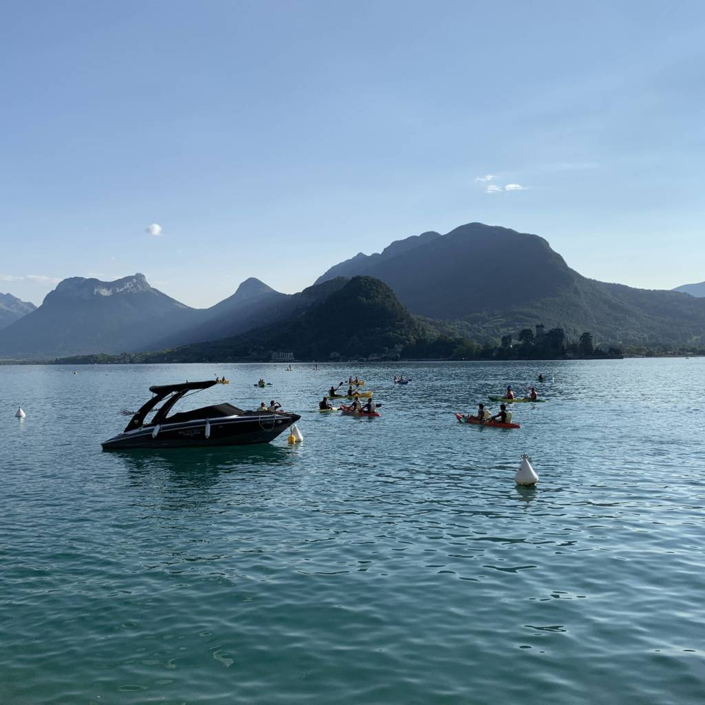 séminaire au lac d'Annecy