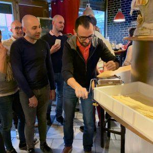 création pâtes