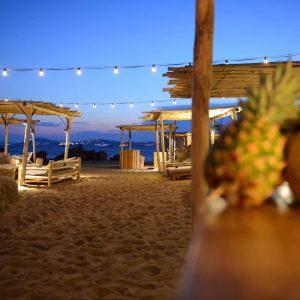 soirée plage